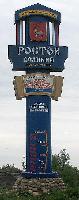 Въездной знак и герб  Ростова Великого