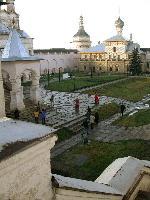 Центральная площадь Ростовского  кремля