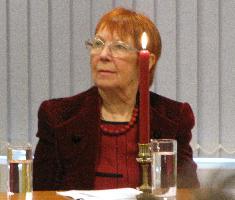 Член жюри Валентина Полухина, Москва