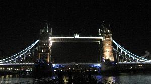 Тауэрский мост вечером